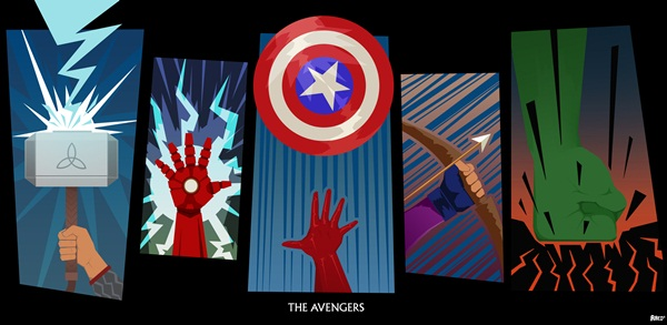 Cool Avenger Fan Art Posters25