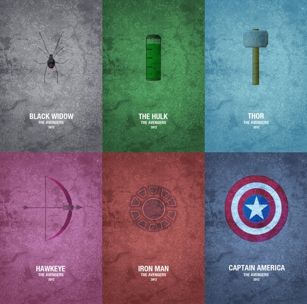 Cool Avenger Fan Art Posters29