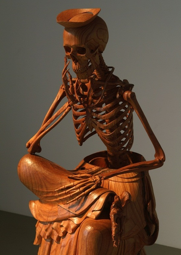 Creative Wooden Artworks and Sculptures15