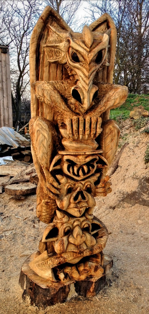 Creative Wooden Artworks and Sculptures25