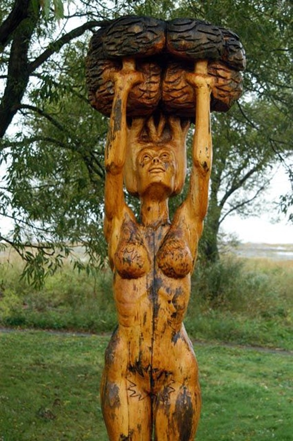 Creative Wooden Artworks and Sculptures26
