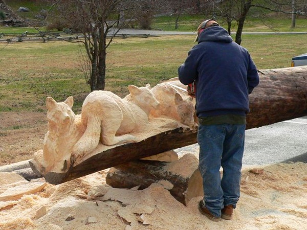 Creative Wooden Artworks and Sculptures41