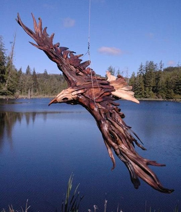 Creative Wooden Artworks and Sculptures5