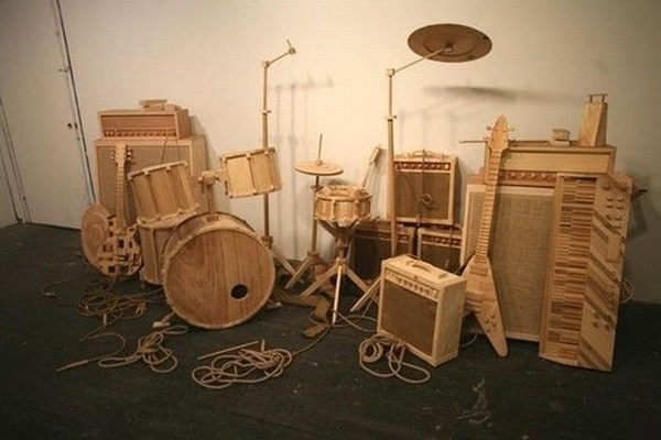 Creative Wooden Artworks and Sculptures9