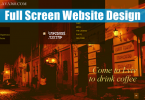 30 Incredible Full Screen Website Design for Inspiration