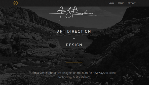 Full Screen Website Design for Inspiration2