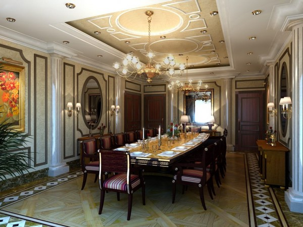 The_Dinning_Room_chandlier