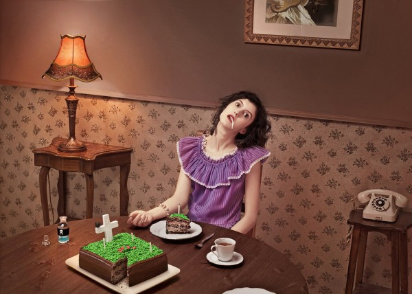 killed_on_Birthday - Strange Conceptual Photography