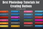 20 Best Photoshop Tutorials for Creating Buttons