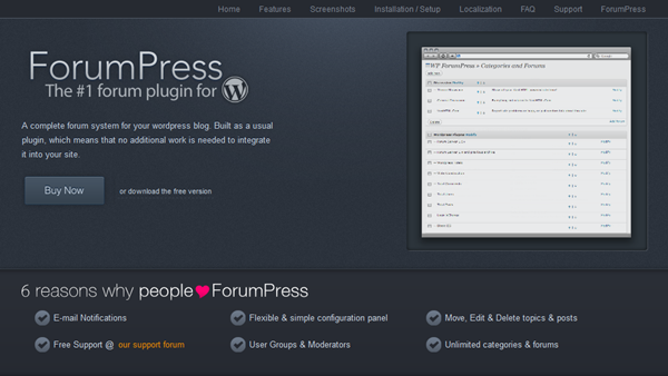 Best WordPress Forum Plugins1