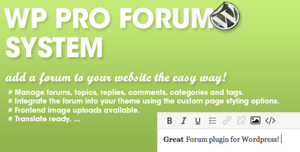 Best WordPress Forum Plugins15