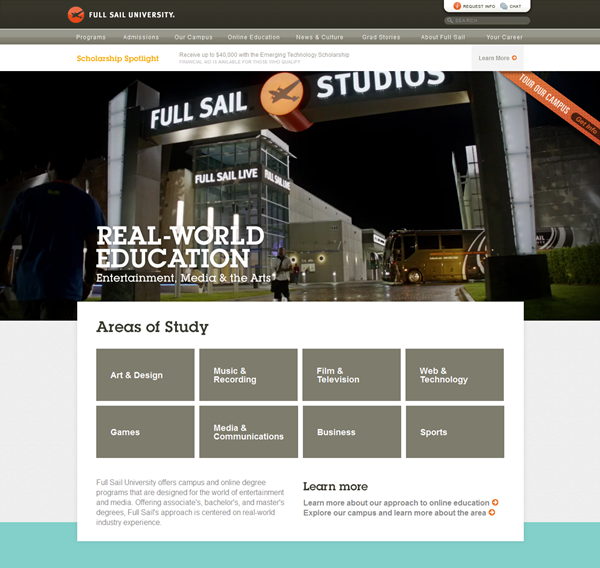 Education Website Designs for Inspiration2