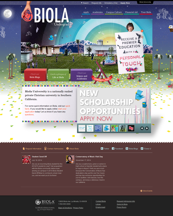 Education Website Designs for Inspiration3