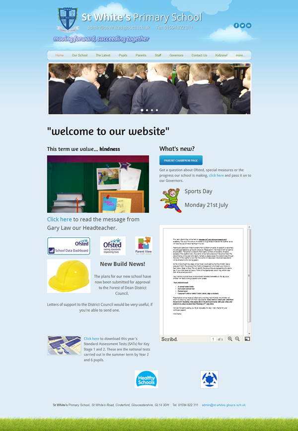 Education Website Designs for Inspiration6