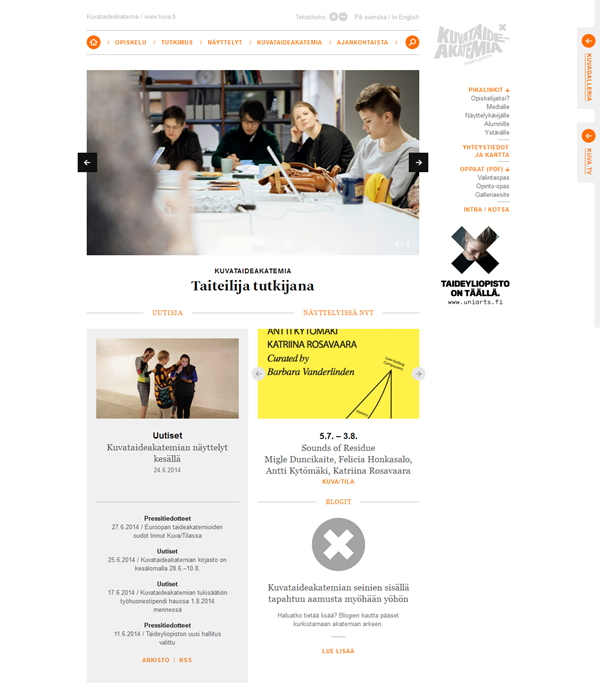 Education Website Designs for Inspiration7