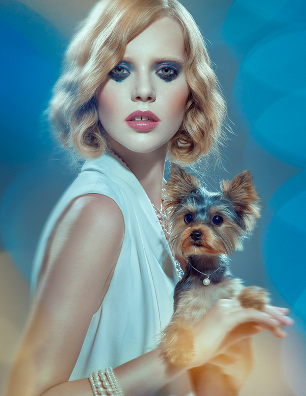 my dog chillout fashion portraits