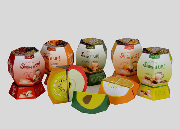 Shake it up! Product Packaging Designs