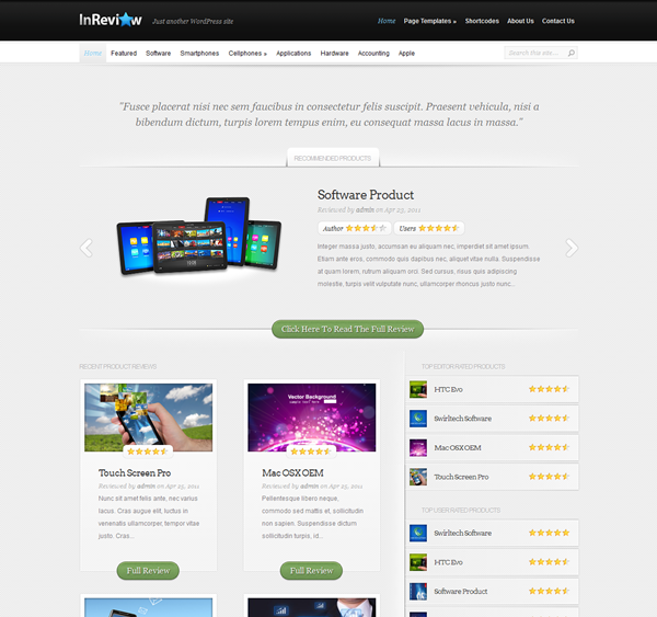 Best WordPress Review Themes12
