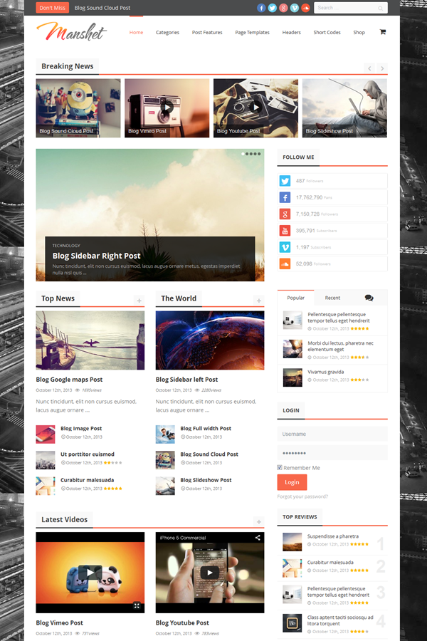 Best WordPress Review Themes2