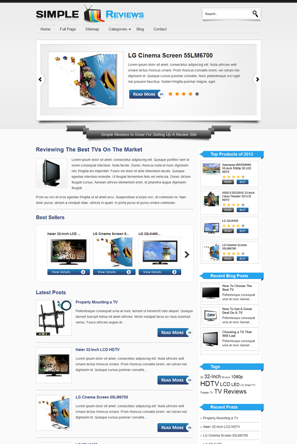 Best WordPress Review Themes5