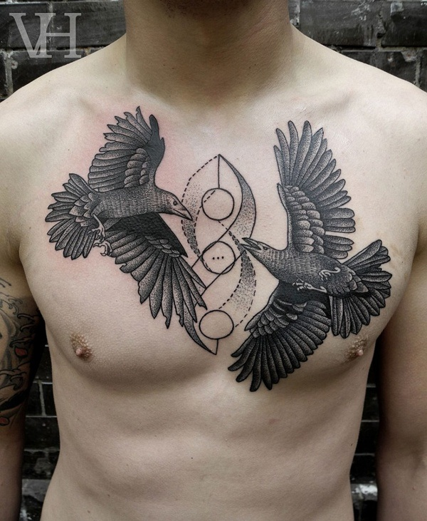 Eagle Tattoo Designs for Girls and Boys14