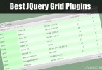 18 Best JQuery Grid Plugins: Excellent Collection