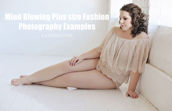 Plus size Fashion Photography Examples1.1