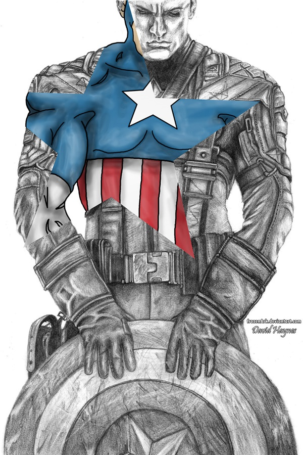 40 Creative Captain America Fan Art and Illustrations - Lava360
