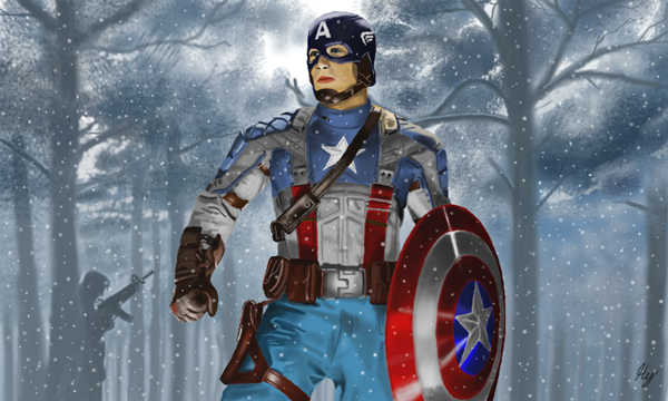 Captain America Fan Art and Illustrations30