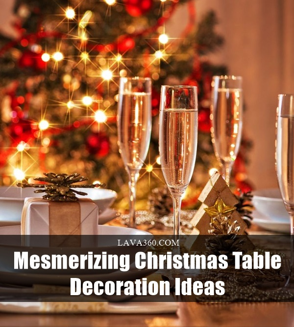 Christmas Table Decoration Ideas1.1