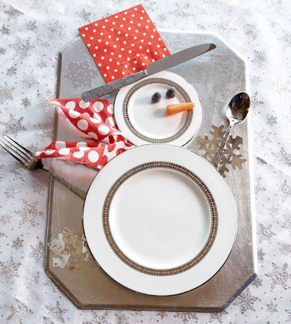 Christmas Table Decoration Ideas11