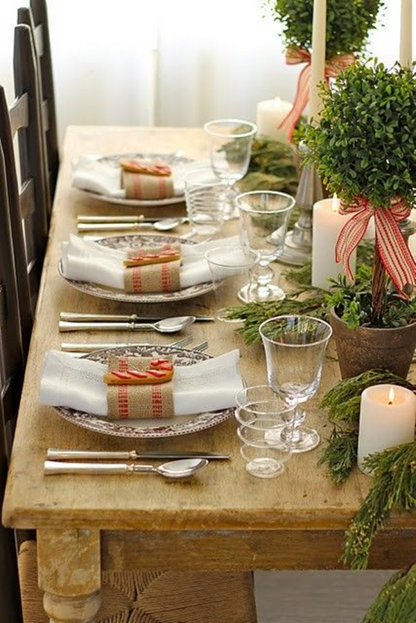Christmas Table Decoration Ideas12