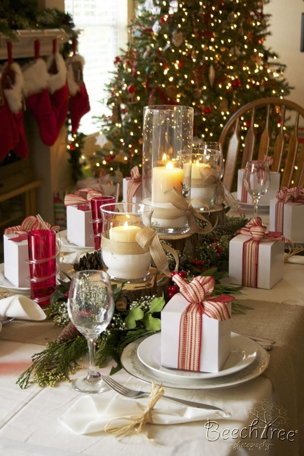 Christmas Table Decoration Ideas13