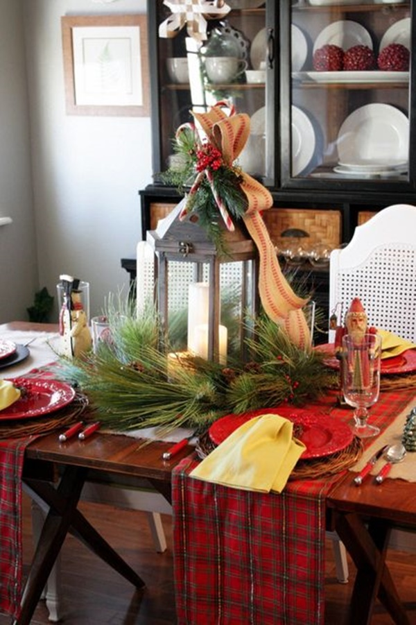 Christmas Table Decoration Ideas25