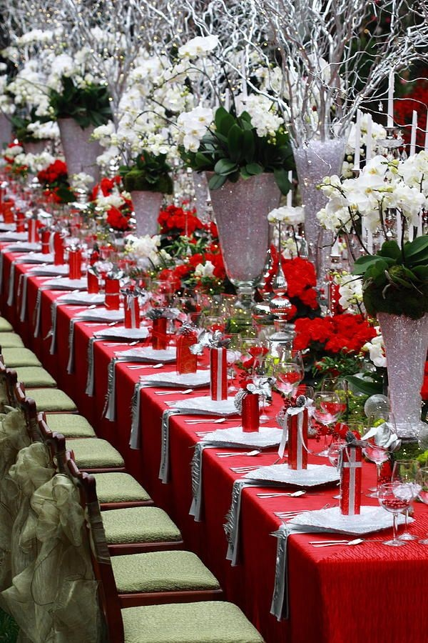 40 mesmerizing christmas table decoration ideas