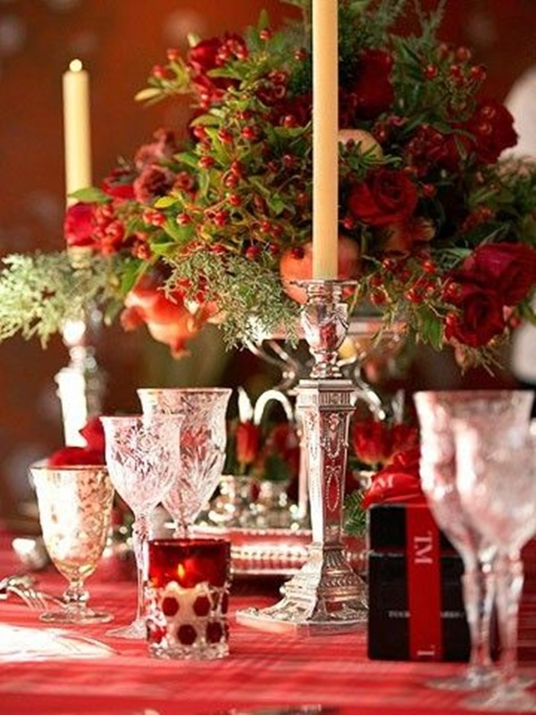 Christmas Table Decoration Ideas29
