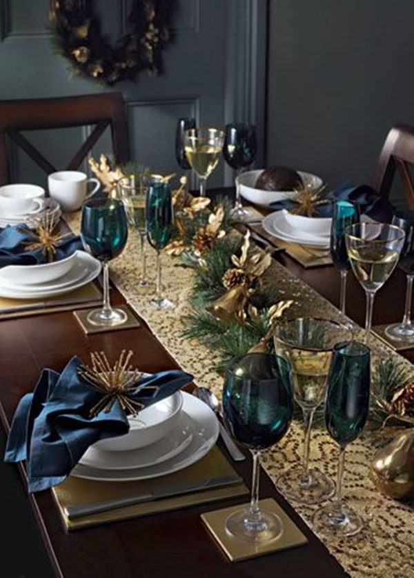 Christmas Table Decoration Ideas30