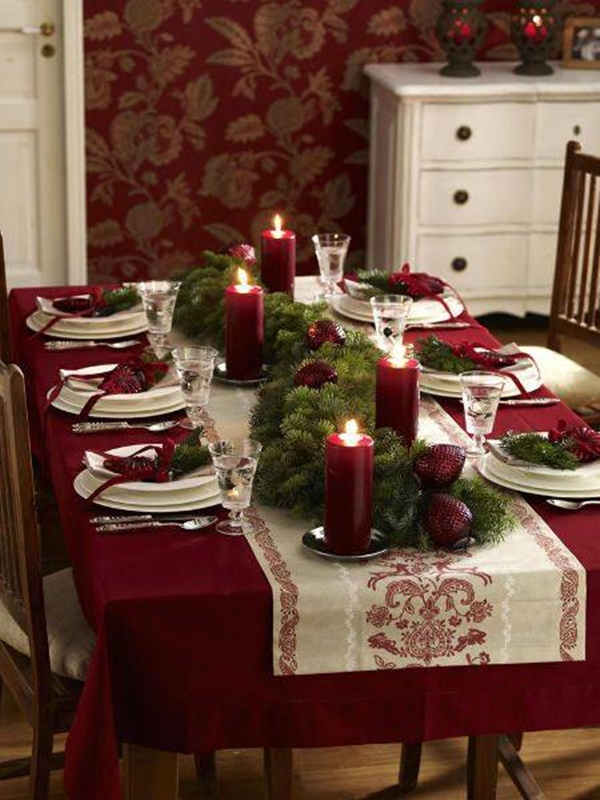Christmas Table Decoration Ideas7
