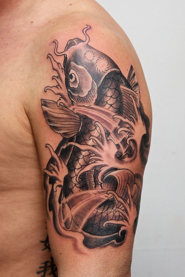 Fish Tattoo Designs For Men and Women (12)
