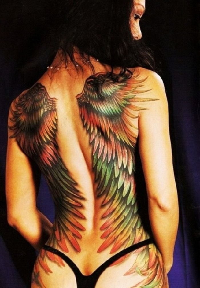 Hot Back Tattoos for Women1 (13)