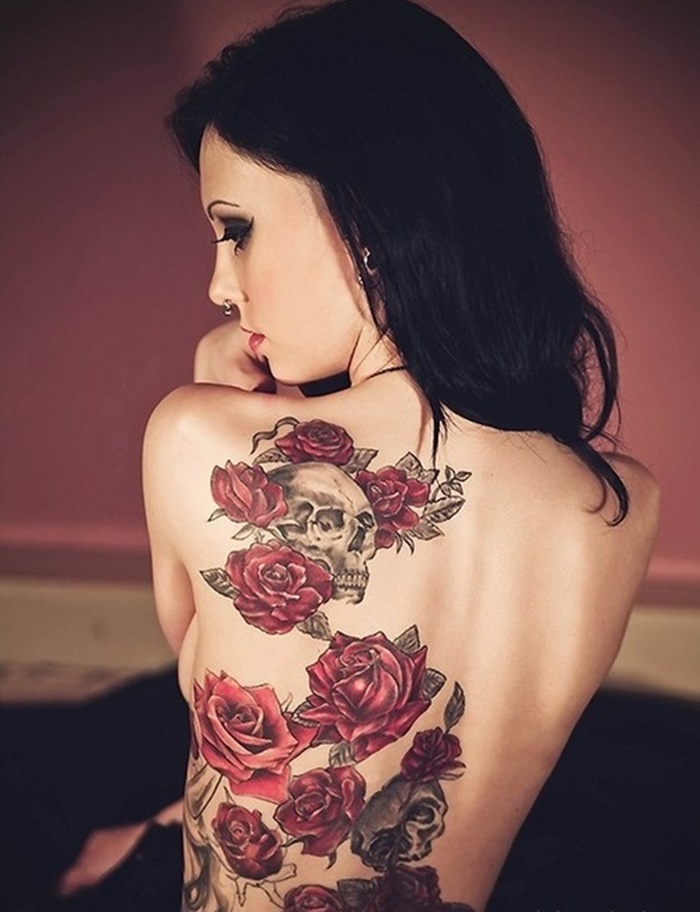Hot Back Tattoos for Women1 (43)