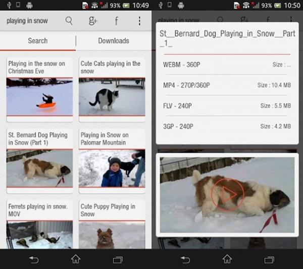 Best Android Apps to download YouTube Videos10-horz