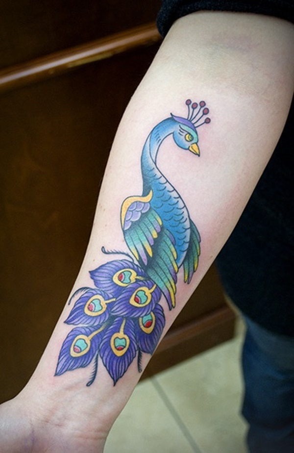 Peacock tattoo designs for Girls21