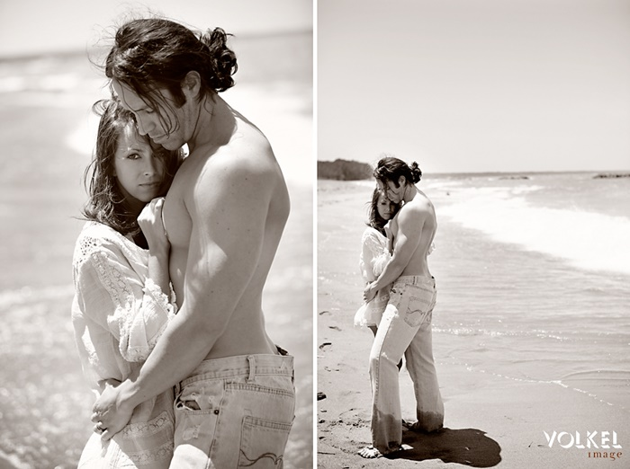 Sexy Couple Beach Photos