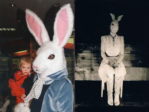 Terrifying Easter Bunny Photo Album - The Miracle of Easter