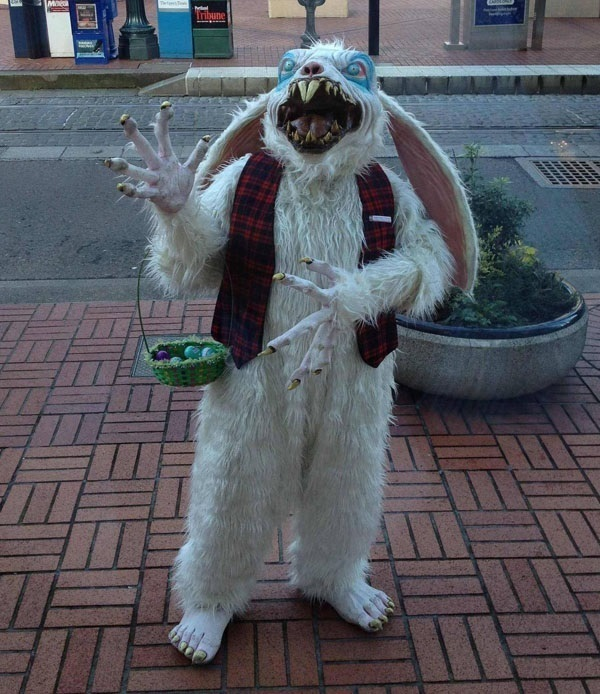 Scary Easter bunny photos and Images (20)