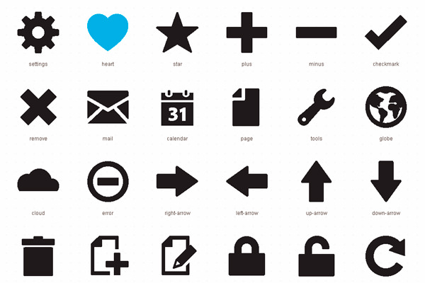 Foundation Icon Fonts 2