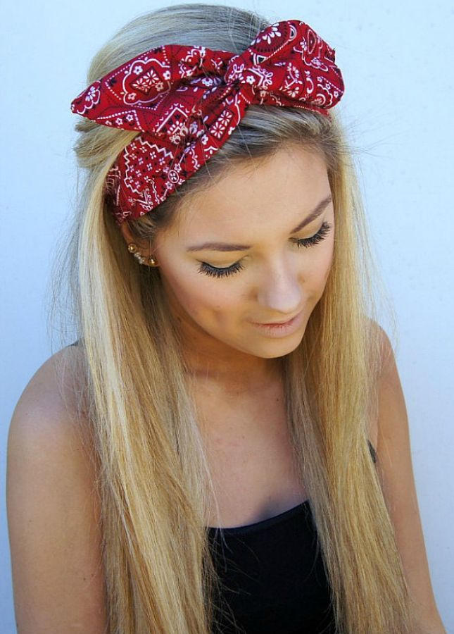 30 Rocking Ways To Wear A Bandana - Lava360 f4e4cfe2885