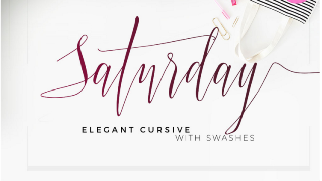 Fine examples of modern calligraphy lava