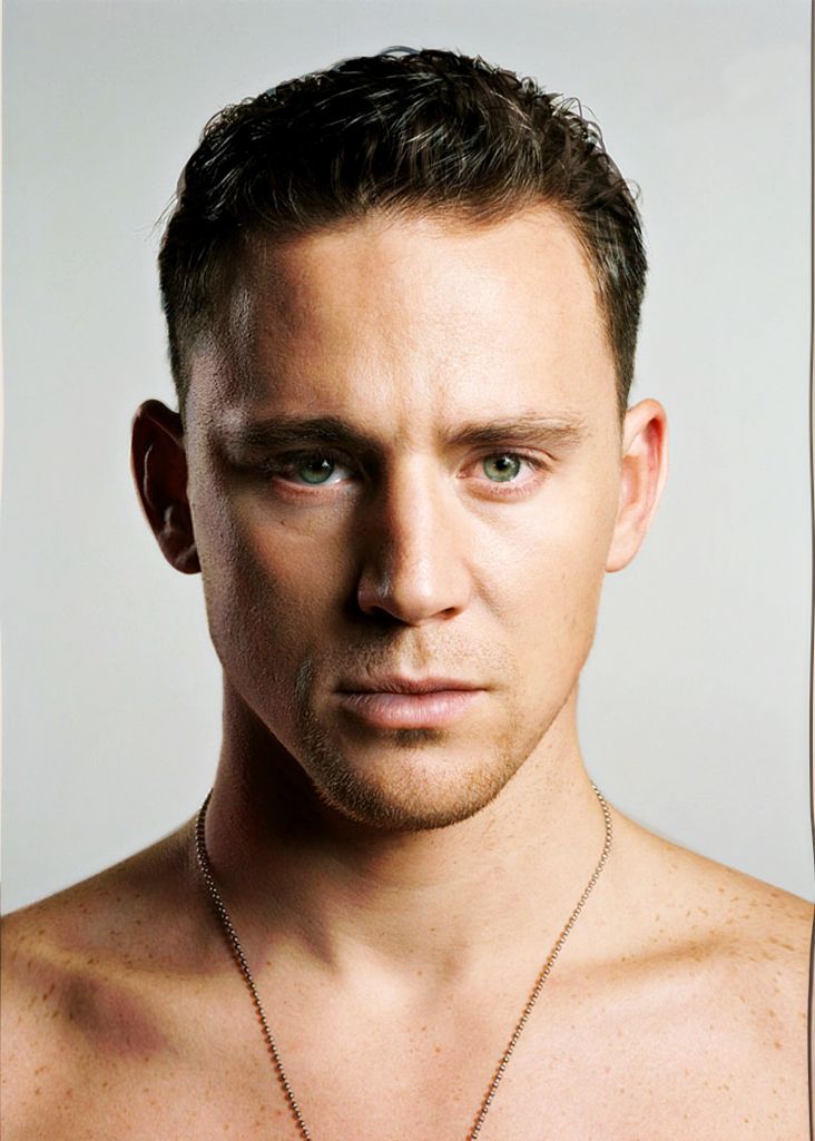 Channing Tatum and Tom Hiddleston